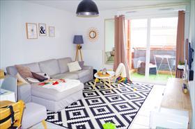 Appartement - Pibrac - Appartement T3 60,55 m² avec balcon -PIBRAC