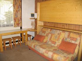 Appartement - LANSLEVILLARD - STUDIO 16,48 M² EN FRONT DE NEIGE