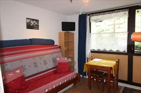 Appartement - LANSLEVILLARD - STUDIO EN FRONT DE NEIGE - 16.42 M²