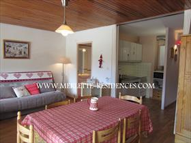 Appartement - ORCIERES - Agréable et spacieux studio de 5 personnes
