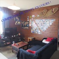 Appartement - ORCIERES - T4 de 6 pers avec deux balcons - jolie vue !
