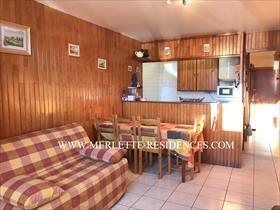 Appartement - ORCIERES - Studio Cabine 4 personnes