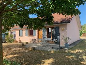 Maison - MORESTEL - Réf. 2123 Villa de plain pied T5, Morestel
