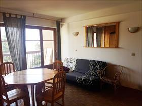 Appartement - merlette - Spacieux studio avec terrasse, pied de piste.