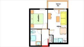 Appartement - LANSLEBOURG - APPARTEMENT DE 29 M² - 2 PIECES
