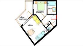 Appartement - LANSLEBOURG - APPARTEMENT 4 PERSONNES - 28.7 M²