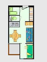Appartement - LES DEUX ALPES 1650 - Résidence l 'ARC EN CIEL