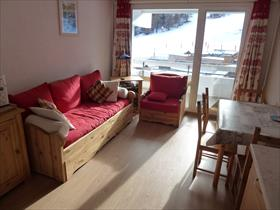 Appartement - PUY SAINT VINCENT - APPARTEMENT T2 TRAVERSANT - PIED DE PISTE
