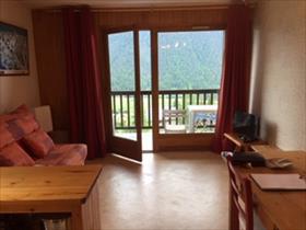 Appartement - ceillac - studio coin montagne et loggia