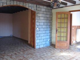 Maison - LA FARE - Maison mitoyenne avec grd garage, terrasse, cour