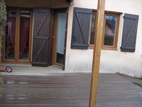 Maison - ST BONNET EN CHAMPSAUR - Pavillon T4 mitoyen d'un coté + jardin