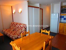 Appartement - ORCIERES - T2 AVEC PARKING COUVERT DANS RESIDENCE RECENTE