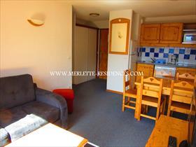 Appartement - MERLETTE - T2 Cabine dans résidence récente avec ascenseurs