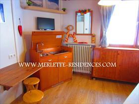 Appartement - ORCIERES - Mini studio rénové - 2 personnes