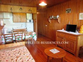 Appartement - ORCIERES - Studio Cabine de 4 personnes
