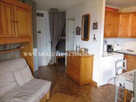 Appartement - ORCIERES - Agréable Studio Cabine 4 personnes, avec terrasse
