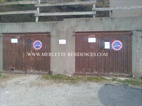 Stationnement - ORCIERES - Grand garage individuel et fermé - Les Plautus